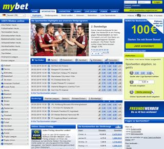 mybet homepage