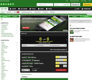 uni bet homepage